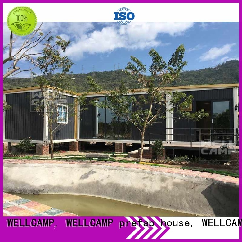 customized light steel villa luxury luxury living container villa suppliers WELLCAMP, WELLCAMP prefab house, WELLCAMP container house Brand