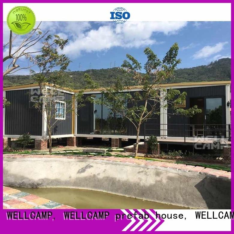 customized light steel villa luxury luxury living container villa suppliers WELLCAMP, WELLCAMP prefab house, WELLCAMP container house Brand