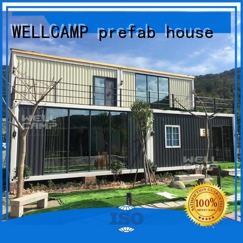 Custom c1 luxury living container villa suppliers house WELLCAMP, WELLCAMP prefab house, WELLCAMP container house