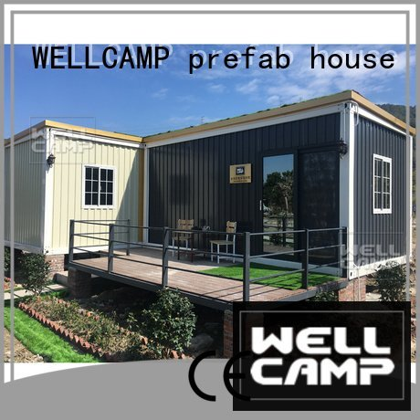 WELLCAMP, WELLCAMP prefab house, WELLCAMP container house steel premade customized light steel villa