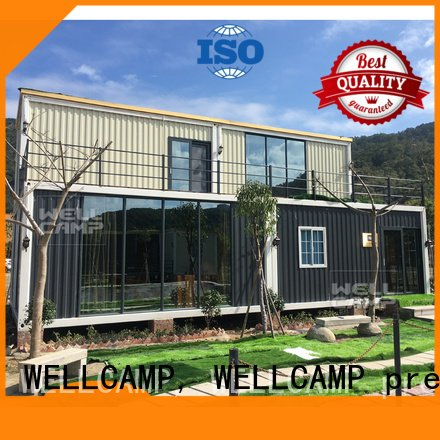light steel customized light steel villa WELLCAMP, WELLCAMP prefab house, WELLCAMP container house
