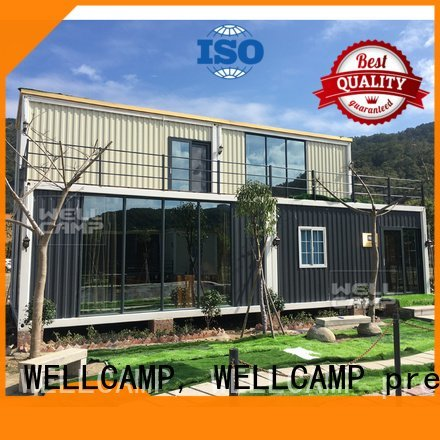 light steel customized light steel villa WELLCAMP, WELLCAMP prefab house, WELLCAMP container house