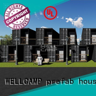 shipping container house for villa resort Aluminum sliding Warranty