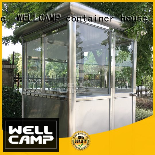 security room manufacturer sandwich panel house WELLCAMP, WELLCAMP prefab house, WELLCAMP container house