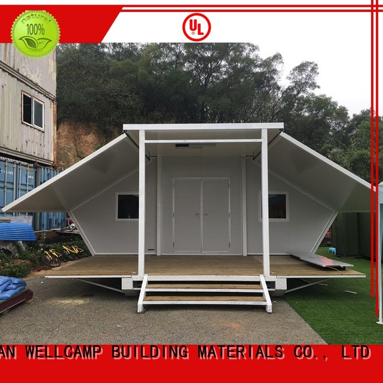 Quality WELLCAMP, WELLCAMP prefab house, WELLCAMP container house Brand expandable container house