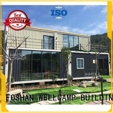 cost steel luxury living container villa suppliers wellcamp WELLCAMP, WELLCAMP prefab house, WELLCAMP container house
