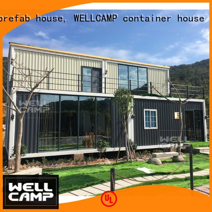 Wholesale villa luxury living container villa suppliers WELLCAMP, WELLCAMP prefab house, WELLCAMP container house Brand