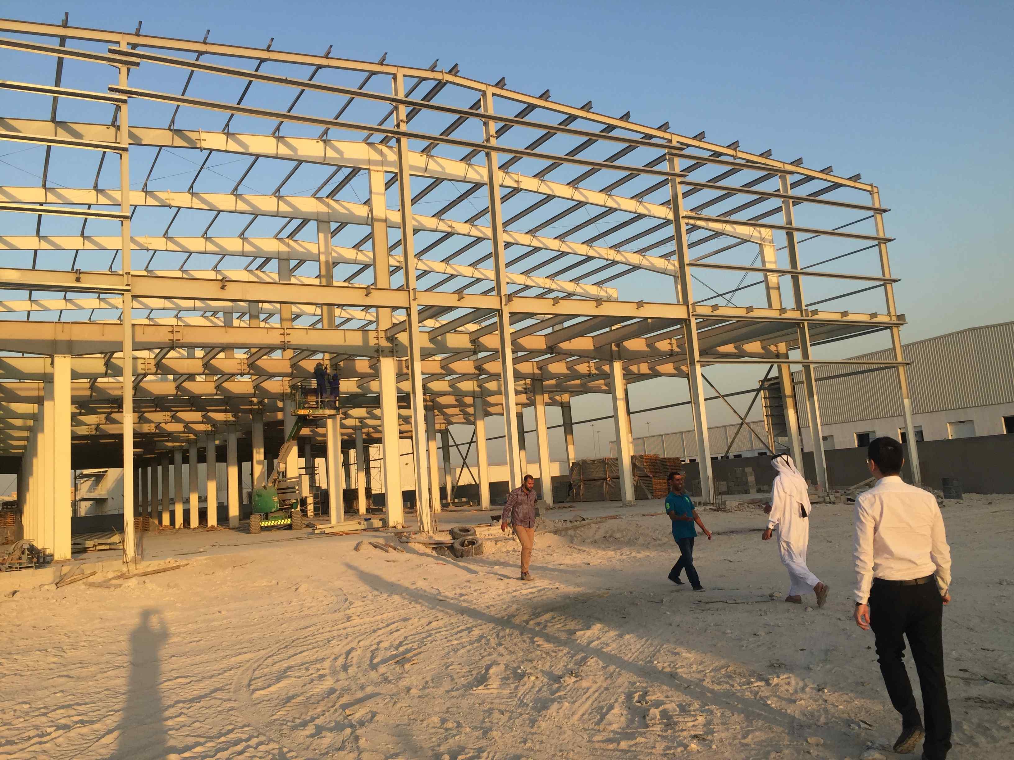 Qatar Construction Site