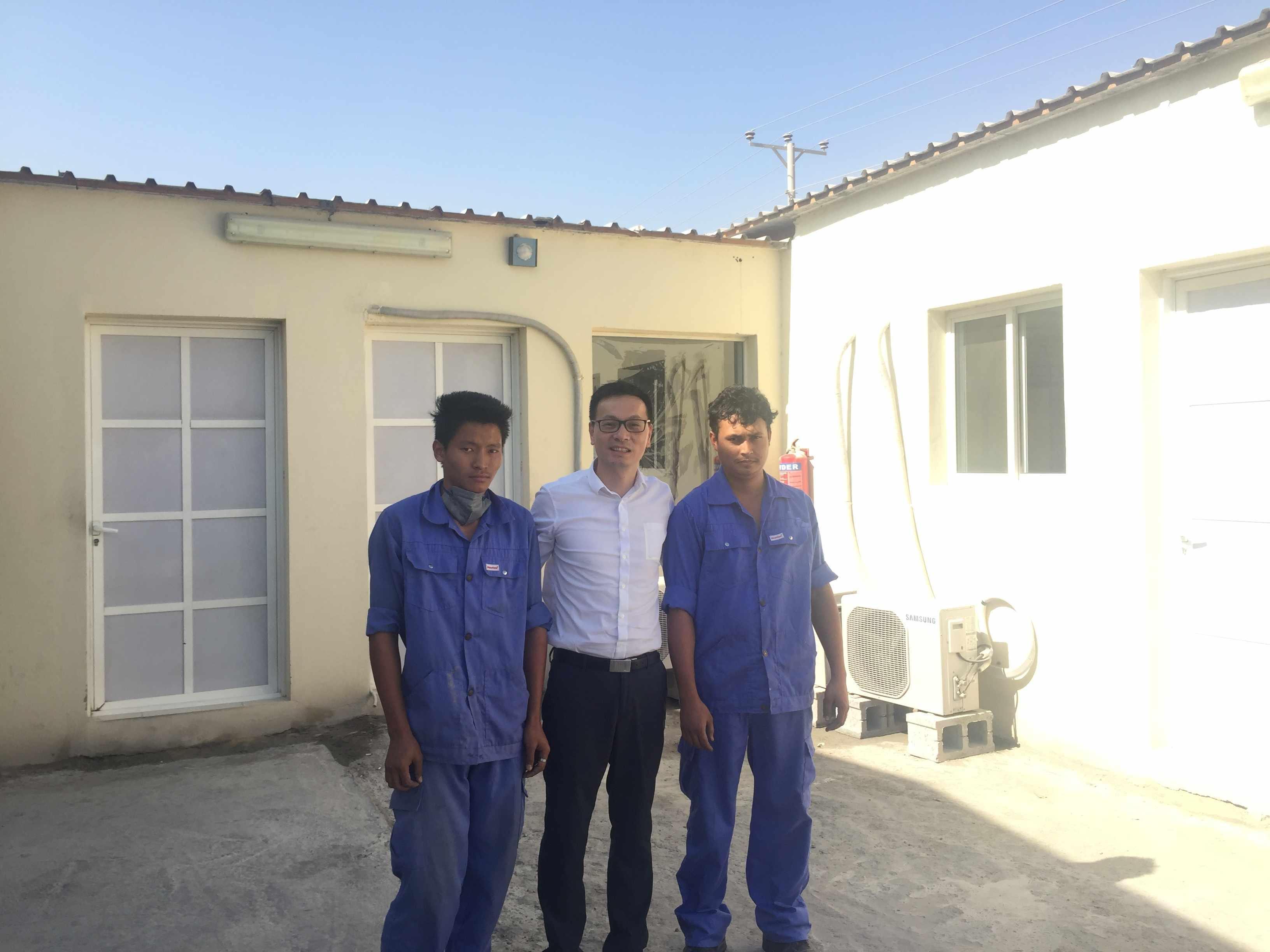 wellcamp Qatar construction site