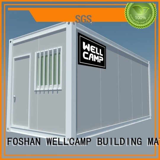 flat pack storage container container glass flat pack container house pack WELLCAMP, WELLCAMP prefab house, WELLCAMP container house Brand